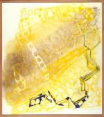 1987, 120-100 cm, patel op papier, coll.ABN-Amro
