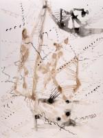 2011, inkt op papier, 42-32 cm part.coll.